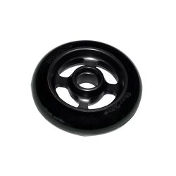 Castor Wheel 100mm X 25mm – 4 Spoke - Black