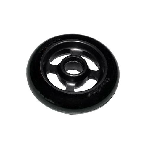 Castor Wheel 100mm X 25mm – 4 Spoke - Black