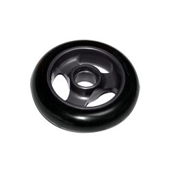 Castor Wheel 100mm X 25mm - 3 Spoke - Graphite Grey