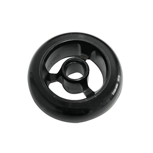 Castor Wheel 100mm X 35mm - 3 Spoke - Black