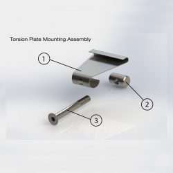 Vida Titanium Plate Bracket
