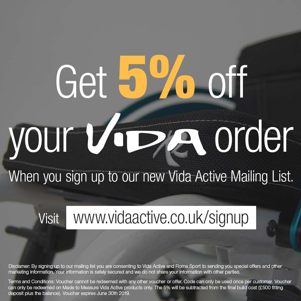vida active custom rigid wheelchairs