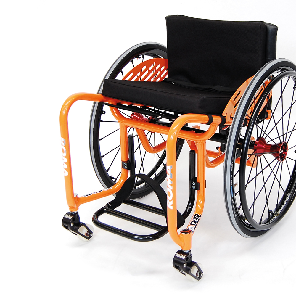 WCMX skate lily rice wheelchair